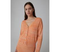 Cardigan 'Beryl' beige/orange