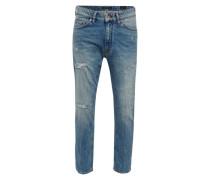 Regular-Fit Jeans 'Deep' blue denim