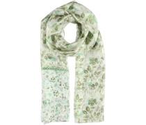Seiden Schal grün