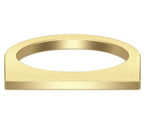 Vergoldeter Ring gold