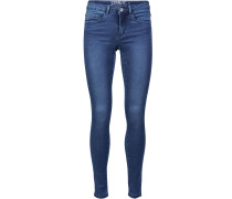 Superstretchige Denim 'Royal' blau