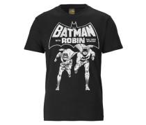 "T-Shirt ""batman AND Robin"" schwarz / weiß"