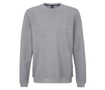 Sweatshirt aus edlem Material grau