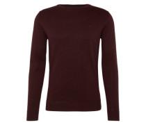 Pullover 'basic crew-neck sweater' beere