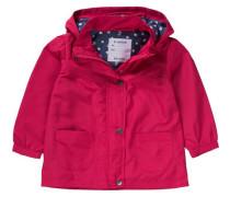Baby Übergangsjacke für Mädchen dunkelblau / pink / weiß