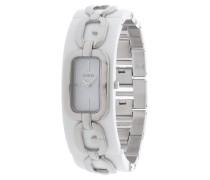 Armbanduhr silber / weiß