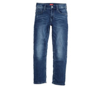 Pete: Superstretch-Jeans blau
