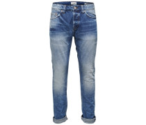 Regular fit Weft-Jeans blau / blue denim