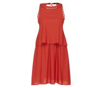 Kleid in Layer-Optik 'VIRosaly' rot