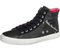 Sneakers 'Then' graumeliert / pink / schwarz
