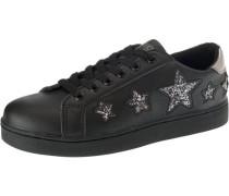 'Garza' Sneakers hellgrau / schwarz