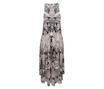 Ausgestelltes Kleid mit Kontrastmuster '60s Voile La Mar' mischfarben