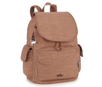 ''Basic Plus City Pack' Rucksack 37 cm braun