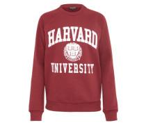 Sweater 'harvard' weinrot