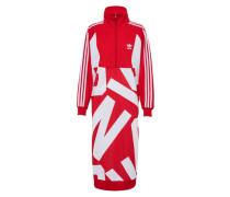 Kleid 'track' rot / weiß
