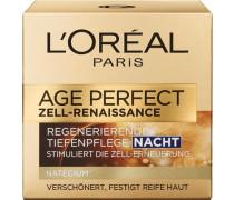 'Age Perfect Zell Renaissance Nacht' Gesichtspflege gold