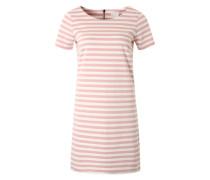 Jerseykleid 'VITinny New' mauve / weiß