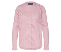 Bluse 'Mattie Fine Stripe Shirt' rosé