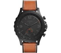 Smartwatch Uhr »Q Nate Ftw1114« ocker / schwarz