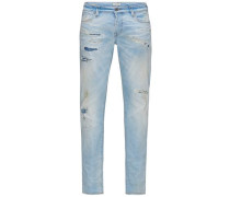 Comfort Fit Jeans Mike bl 572 blau