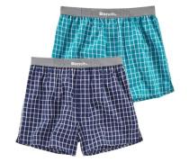 Boxershorts (2 Stück) blau