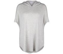 Shirt Poncho grau