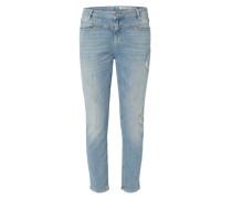 'Susi Slim' Slim Fit Jeans blau