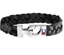 Armband »Men's Casual 2700872« schwarz / silber