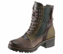 Stiefel braun / grau / grün / petrol