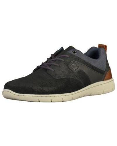 Sneaker blau / braun