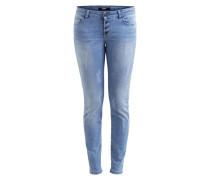Skinny fit Jeans blau