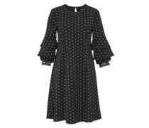 Kleid mit Miniblumen-Print