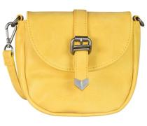 Christi Vintage Mini Bag Umhängetasche 18 cm gelb