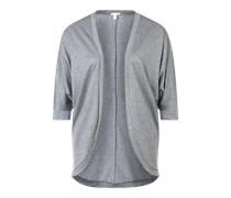 ESPRIT Shirtjacke 'Solid' grau