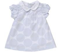 Baby Kleid hellgrau / weiß