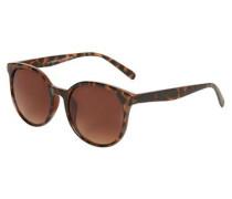 Classic Sonnenbrille braun / schwarz