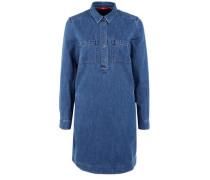 Jeanskleid mit langen Ärmeln blue denim