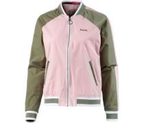 Bomberjacke Damen oliv / rosa