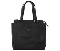 Brera Handtasche Leder 27 cm schwarz