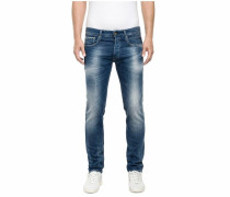 Straight-Jeans »Ronas« blau