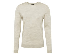 Pullover beigemeliert
