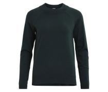 Gestrickte Bluse dunkelgrün