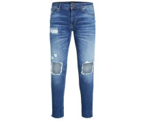 Skinny Fit Jeans 'liam Original 055 50Sps' blue denim