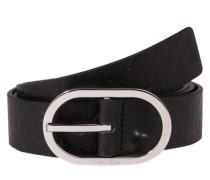 Gürtel mit Logo-Prägung 'Misha' schwarz