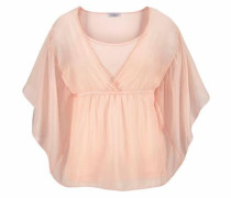 Chiffonbluse puder