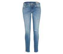 'Gracey' Skinny Jeans 084Gl blue denim