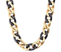 Halskette 'Ceramia Elnl11855D420' gold / schwarz