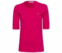 Rundhalsshirt pink