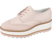 Schnürschuhe rosa