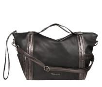 Handtasche 'Donata' mit Metallic-Besatz